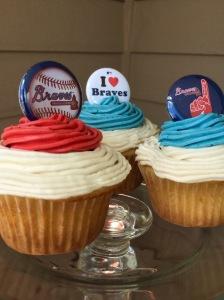 Gwinnett Braves Cupcakes