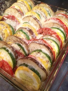 Vegetable Tian Post-Oven