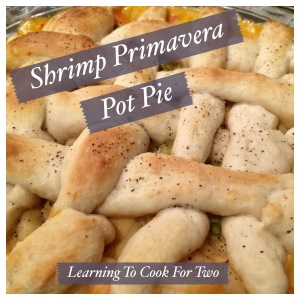 Shrimp Primavera Pot Pie