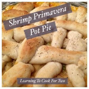 Shrimp Primavera Pot Pie